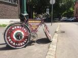 Szeged bicicleta reclama