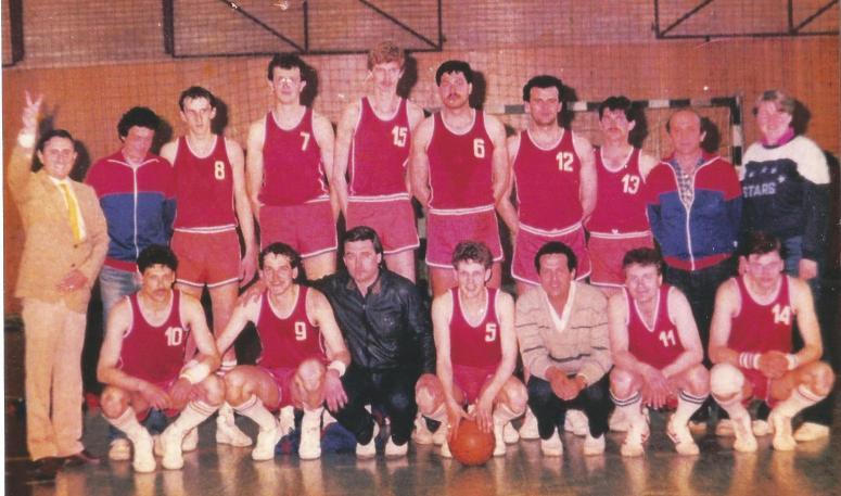 Elba baschet promovare mai 1987