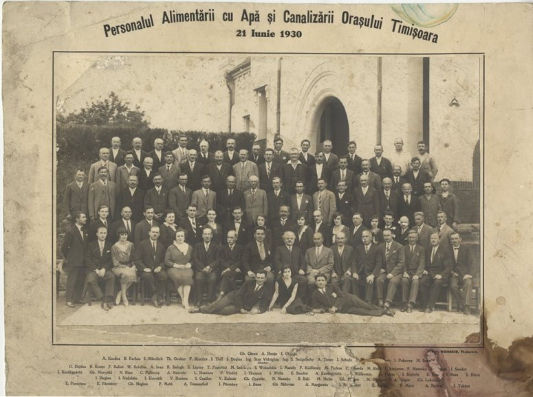 Personalul ACOT 1930
