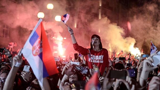 Primirea baschetbalistilor in Belgrad