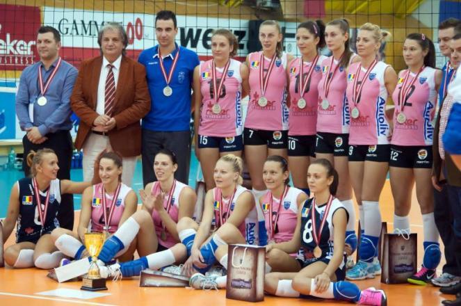 CSM Lugoj Argint in Cupa Balcanica