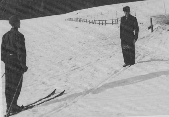 Anghelache si Mihai I 1942