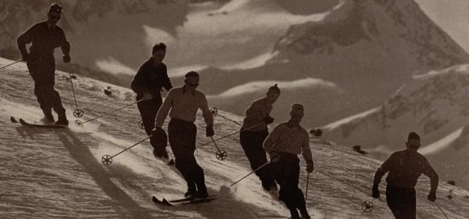 Inceputurile schiului paralel