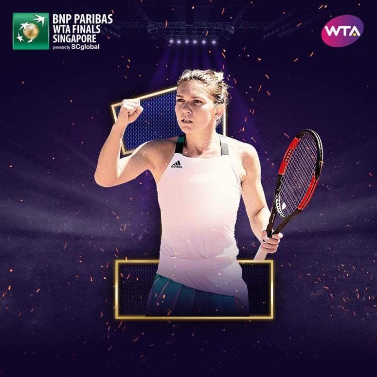 Simona Halep 1 WTA