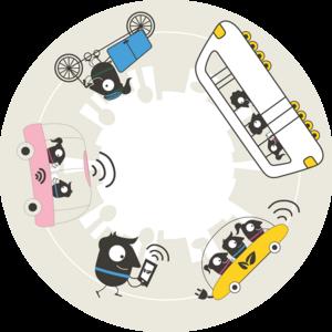 Logo Saptamana mobilitatii 2018