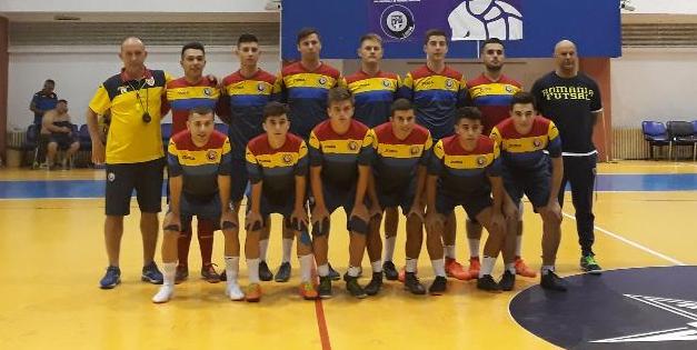 Romania U19 fotbal in sala 2