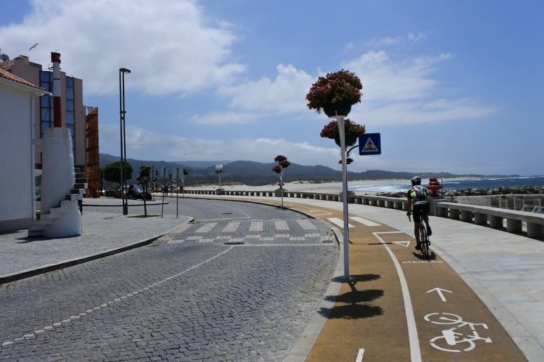 Pista de bicicilete in nordul Portugaliei
